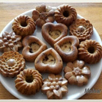 Muffin csokidarabokkal