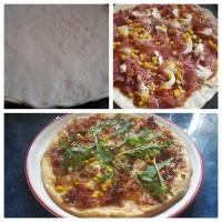 Pizza 1 g élesztővel