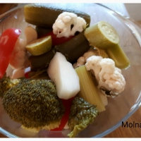 Kovászos zöldségek