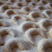 Kókuszos vaníliás kifli